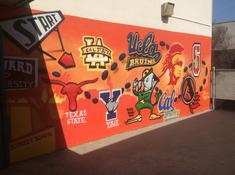 College Is Our Goal Mural